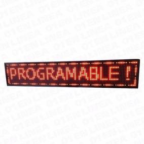 Cartel Letrero Led Mensajes Programables Movimiento 20x68 Cm