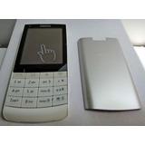 Celular Nokia (liberado) Touch (blanco-plata)