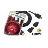 Cabo Hdmi 1.5m Combo 3 Em 1 - Hdmi Mini E Micro - Full Hd 3d