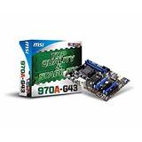 Msi 970a-g43 Amd 970 Chipset Ddr3 Am3 Socket Desktop Tarjet