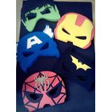 Antifaces En Goma Eva!! Superhéroes! X 10