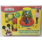 Pelotero Inflable Disney Mickey Con 15 Pelotas Jyj3286