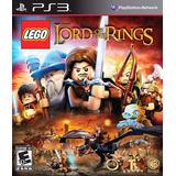 Lego El Señor De Los Anillos Ps3 Digital Gcp