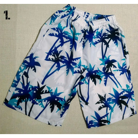 Pantalonetas Hawaianas Niño Y Playa Tallas 2,4,6,8,10,12,14