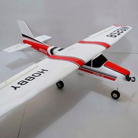 Avião Aeromodelo Cessna 182 120cm Kit Isopor P3 Depron