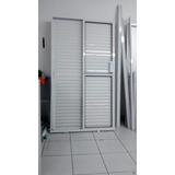 Porta Balcão Alum. Branco 3 Folhas 2.10 X1.20 Em Santo André