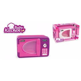 Forno Microondas De Brinquedo Baby Kitchen - Frete Grátis