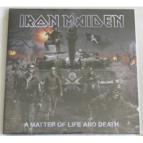 Iron Maiden A Matter Of Life And Death 2 Lp Pronta Entrega