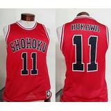 Camiseta Slam Dunk Shohoku Rukawa 11 Todas Tallas + Envio