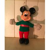 Antiguo Muñeco De Tela Y Goma De Mickey Mouse.mm Donalds.