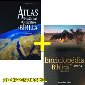 Kit Sbb Atlas Da Bíblia + Enciclopédia Bíblica Ilustrada