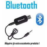 Receptor Adaptador Bluetooth Usb Para Musicas Blutuf + Frete