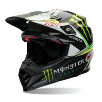 Capacete Bell Moto-9 Flex Monster+queixeira Extra 61/62 Rs1