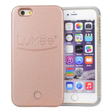 Case Capinha Capa Iphone 7 E 7 Plus Lumee Luz Led Selfies
