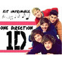 Kit Imprimible One Direction 1d Full Fiesta 3x1