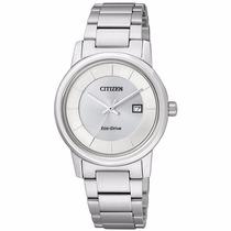 Reloj Citizen Eco-drive Ladies Dress Ew1560-57a Con Fechador