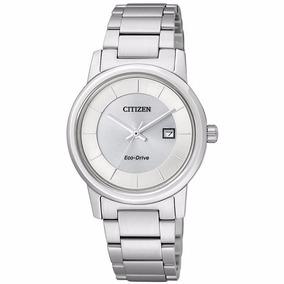 Reloj Citizen Eco-drive Original Con Fechador Ew1560-57a
