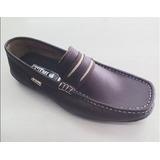 Zapatos Casuales Para Caballero Marca Zhumy Marrón.