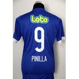 Camiseta U De Chile 2017 Pinilla + Loto + Escudo Campeón
