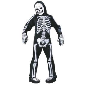 Diversión Mundo Totalmente Esqueletos Niño Pequeño (4-6)
