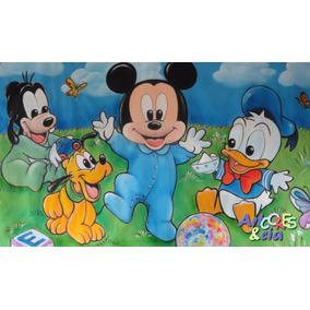 Painel Em Lona Baby Disney 2,00 X 1,40