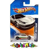 Hot Wheels Ferrari 458 Italia 130/247 De 2012 Lacrado 1:64