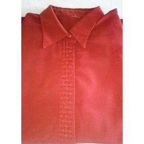 Camisas Blusas De Dama Talle 44/46 Seda Fina Crepe Colores