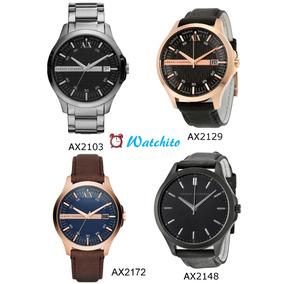 d665d5e791de Reloj Armani Exchange Hombre Cuadrado - Reloj de Pulsera en Mercado ...