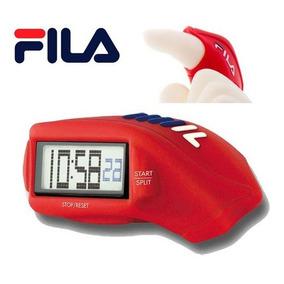Reloj De Dedo Fila Digital Mens Finger Watch 33301 Red Sport