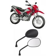 Espelho Retrovisor Par Moto Bros 150 2009 Modelo Original