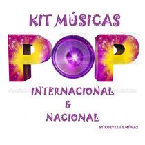 Kit 400 Músicas Pop Internacional & Nacional