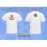 Camiseta Moto Yamaha Midnight Star (custom, Xvs 950)
