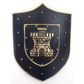 Escudo Medieval New Castre, Decoração De Parede, Bar