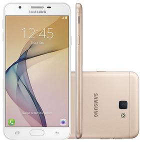 Smartphone Samsung Galaxy J7 Prime G610m Dourado - 4g