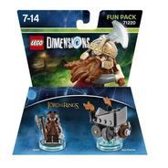 Lego Dimensions Fun Pack El Señor De Los Anillos Gimli