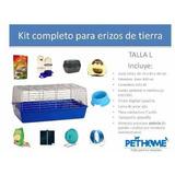 Kit Completo Talla L Para Erizos De Tierra Pethome Chile