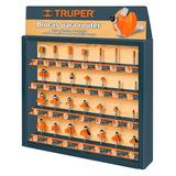 Exhibidor Brocas Para Router Truper 55218