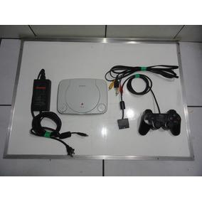 Psone Ps1 Slim Console Completo Barato, Leia! C05