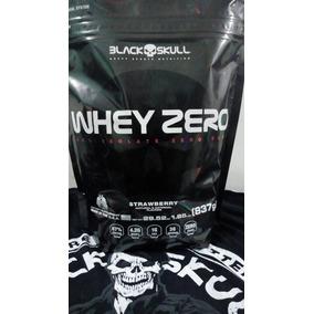 Whey Zero Black Skull + Coqueteleira