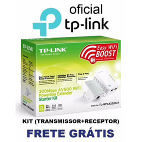 Extensor Powerline Wireless Tp-link Tl-wpa4220 Av500 Kit