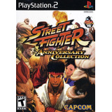 Street Fighter Anniversary Collection Ps2 Nuevo