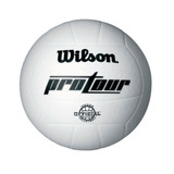 Bola De Volei Pro Tour - Wilson - Branca