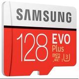 Cartão De Memória Micro Sd Samsung Evo Plus 128gb 90mb