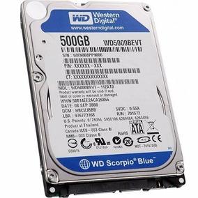 Disco Rígido Wd Blue 500gb P/notebook