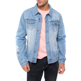 Chaqueta Denim Estampado Dijon