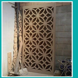 Paneles Decorativos De Madera Mdf Routeado Cnc Divisores