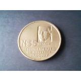 Moneda - Uruguay N$5 Artigas Sesquicentenario 1825 - 1975