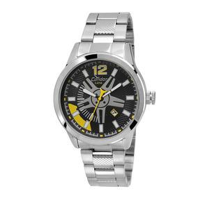 Relógio Corinthians Masculino Analógico Prata Coros10aa 3p ... 4a232aa220bb2
