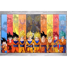 Cuadros Modernos Decorativos Dragon Ball Z 40x30 Cm.