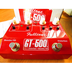 Gt500 Fulltone Red Distortion Overdrive E Boost .. Ocd Xotic